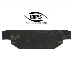 BELT MOUNT MOLLE PANEL MULTICAM BLACK