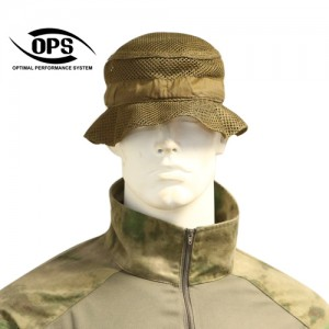 O.P.S REVERSIBLE BOONIE HAT IN COYOTE BROWN