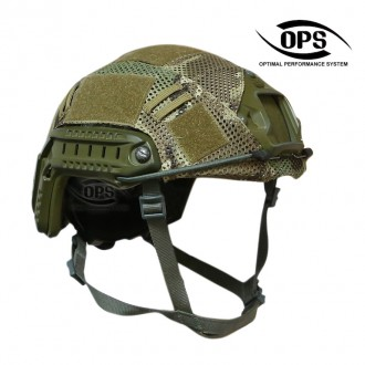 OPS COMBAT HELMET COVER FOR OPSCORE BALLISTIC HIGH CUT IN CRYE MULTICAM