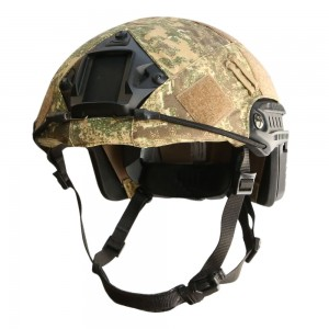 OPS HELMET COVER FOR OPS-CORE FAST BALLISTIC HELMET IN PENCOTT-BADLANDS