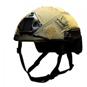 OPS HELMET COVER FOR OPS-CORE FAST BALLISTIC HELMET IN RANGER GREEN