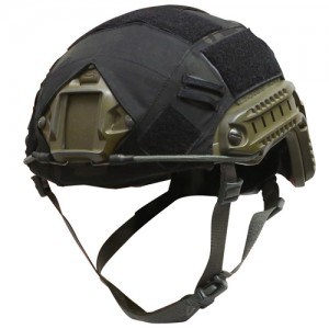 OPS HELMET COVER FOR OPS-CORE FAST BALLISTIC HELMET IN CRYE MULTICAM BLACK
